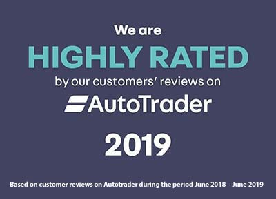 Autotrader Rated 2019 - Bilsborrow Car Sales
