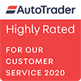 Autotrader Rated 2020 - Bilsborrow Car Sales