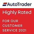 Autotrader Rated 2021 - Bilsborrow Car Sales